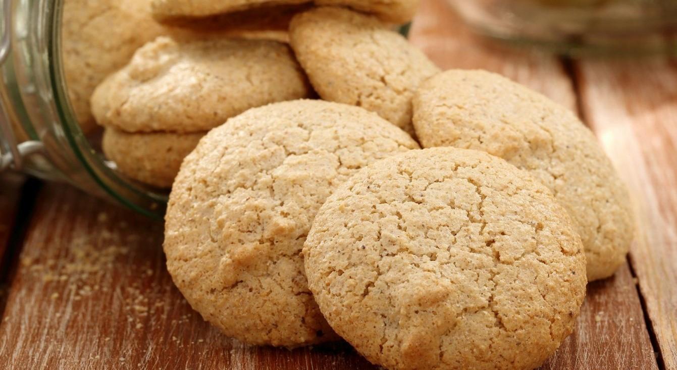 Песочное печенье с кокосовым сахаром