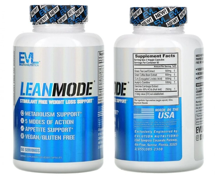 Подавитель аппетита LeanMode от EVLution Nutrition