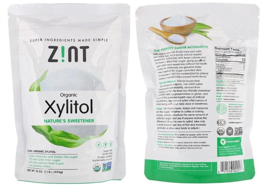 Сахарозаменитель ксилит от бренда Zint