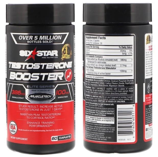 Стимулятор выработки тестостерона Elite Series от Six Star