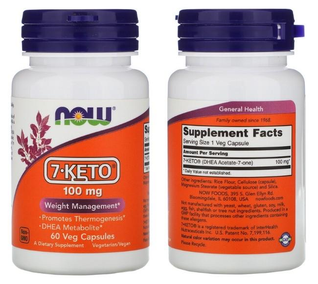 7-KETO от Now Foods