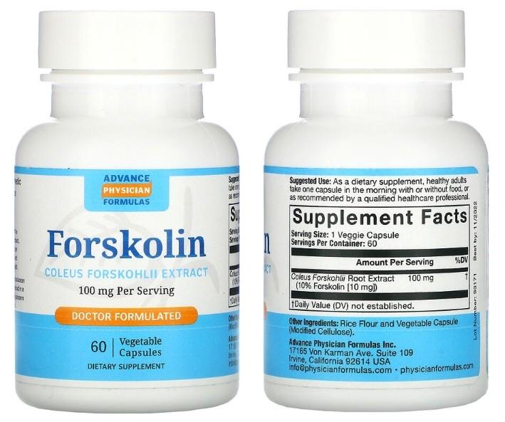 Экстракт форсколина Advance Physician Formulas