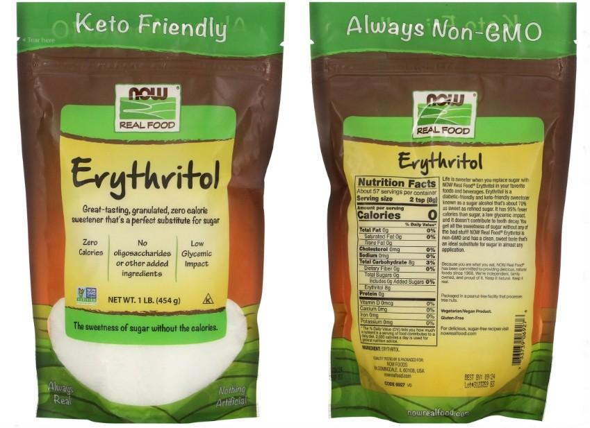 эритритол Now Foods