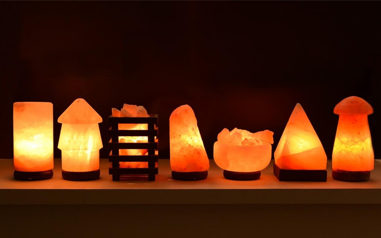 формы соляных ламп