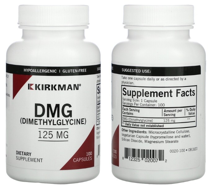 Диметилглицин Kirkman Labs