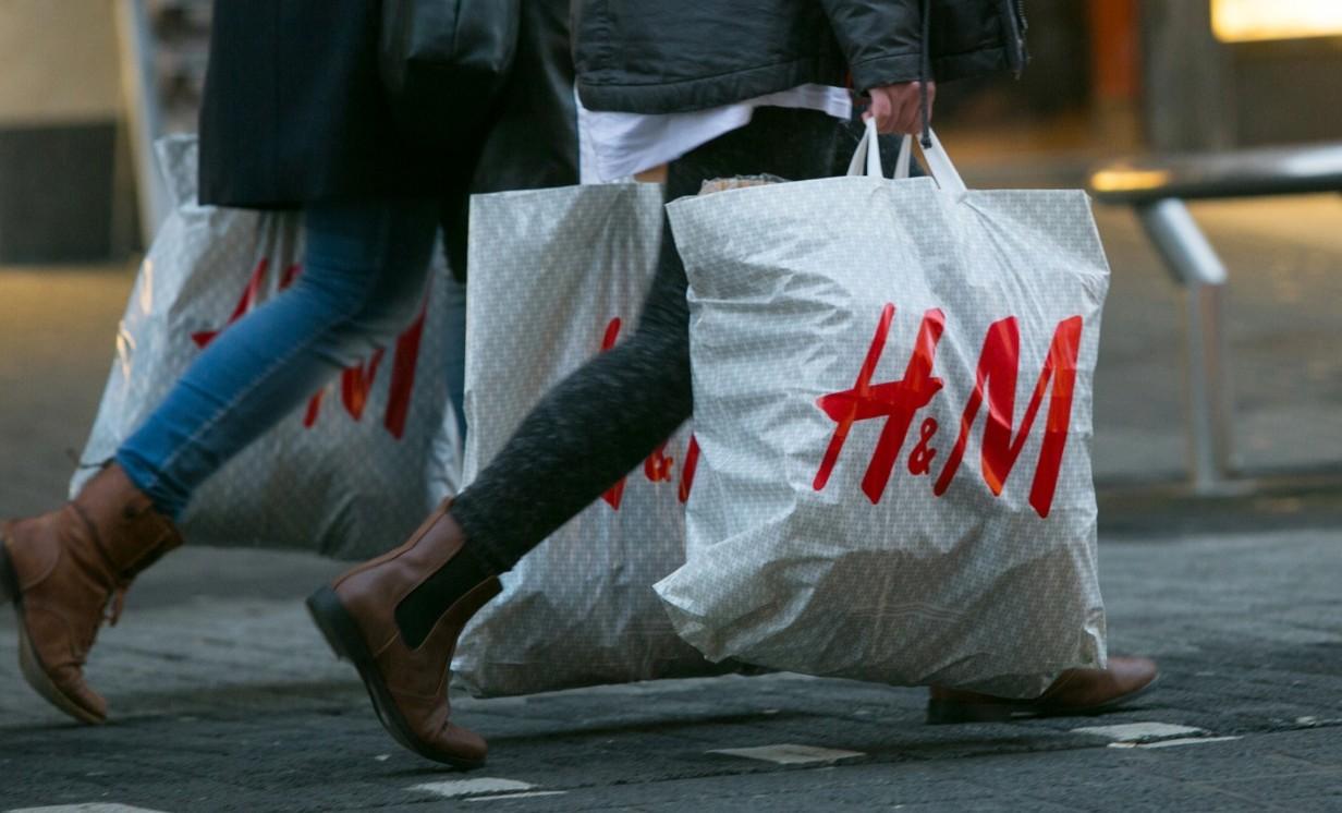 прием старых вещей в H&M